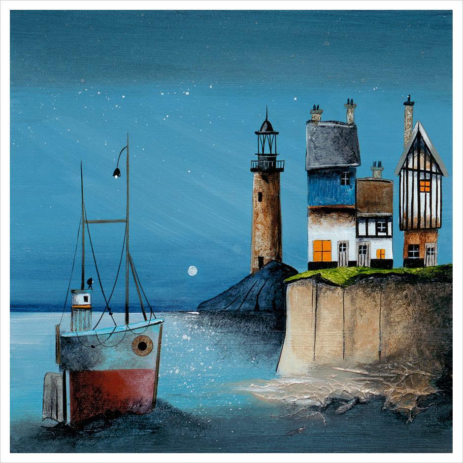 Moonlit Harbour